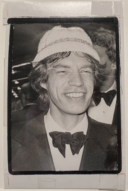 Andy Warhol, 'Mick Jagger in Hat', ca. 1985, Photography, Gelatin silver print, Hedges Projects