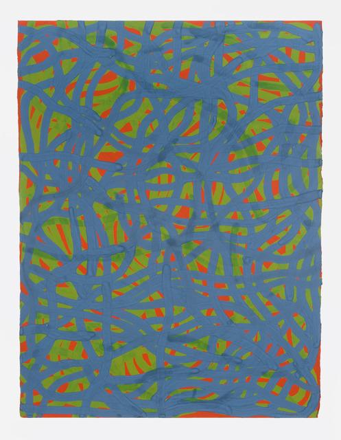 , 'Tangled Bands,' 2001, Fleisher/Ollman
