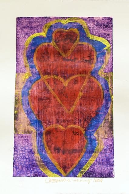 , 'Four Hearts Blending,' 2018, Carter Burden Gallery