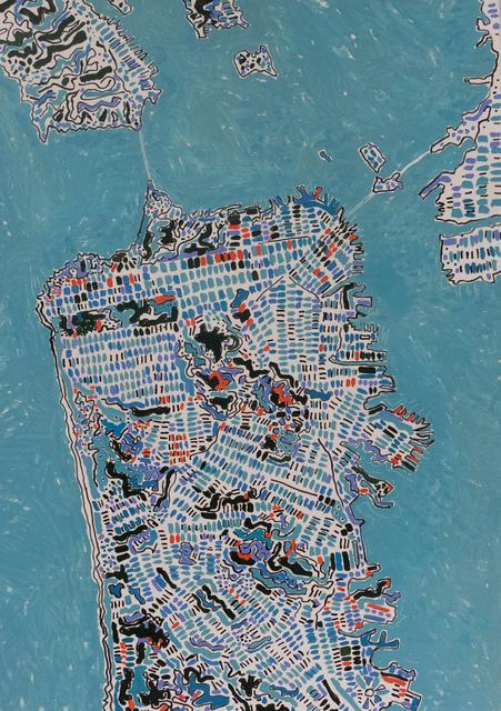 , 'San Fransisco Ocean Blue,,' 2019, Rebecca Hossack Art Gallery