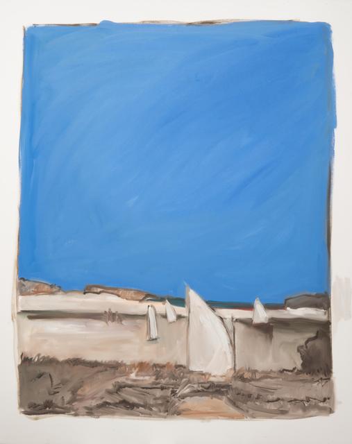 , 'Four Sailboats,' 2018, MM Fine Art