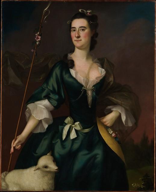Joseph Blackburn, 'Mary Sylvester', 1754, The Metropolitan Museum of Art