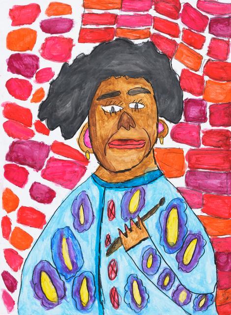 , 'Alma Thomas Portrait,' 2019, Creativity Explored