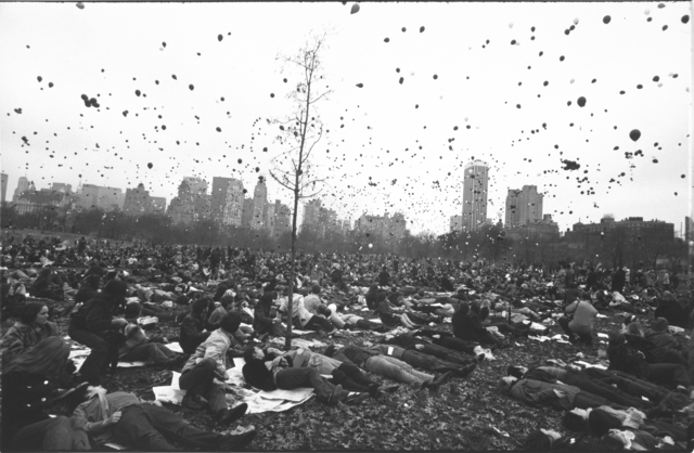 , 'Peace Demonstration, Central Park, New York,' 1970, Etherton Gallery