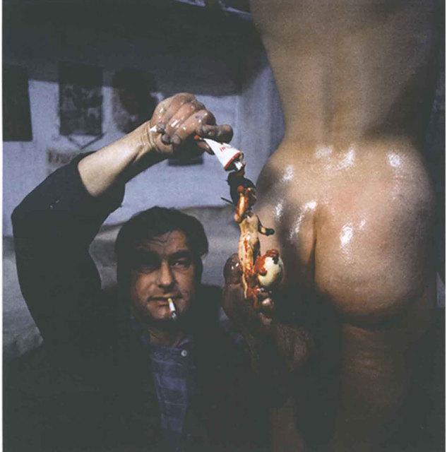 , 'Funebre Aktion 34,' 1966, Konzett Gallery