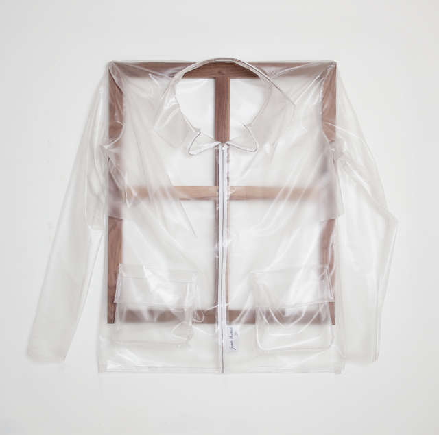 , 'Vinyl Raincoat,' 2015, The Sunday Painter