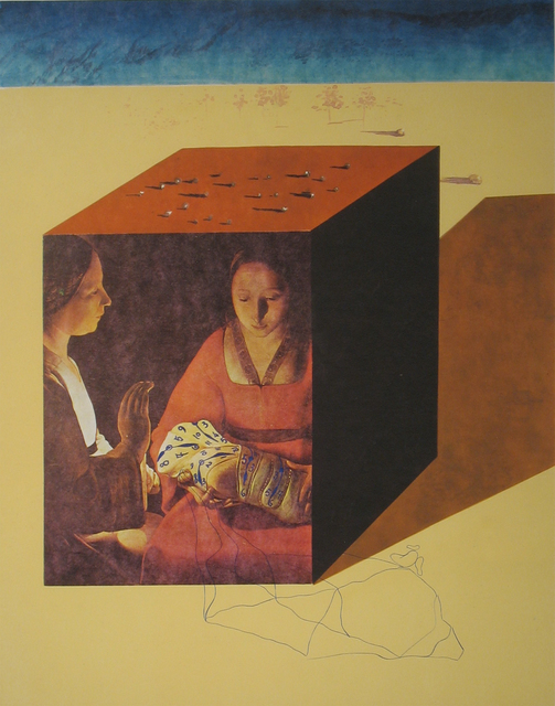 Salvador Dalí, 'Caring for a Surrealist Watch', 1971, Print, Lithograph with etching, DTR Modern Galleries