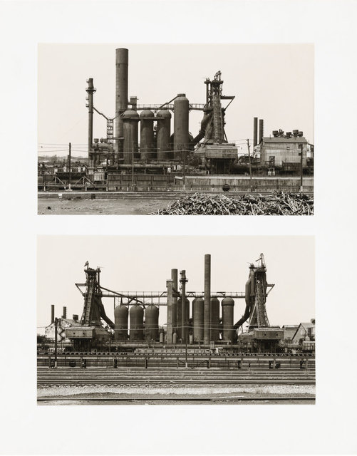 , 'Youngstown Works, Blast Furnaces 2, 3-4,' 1981, Ludorff