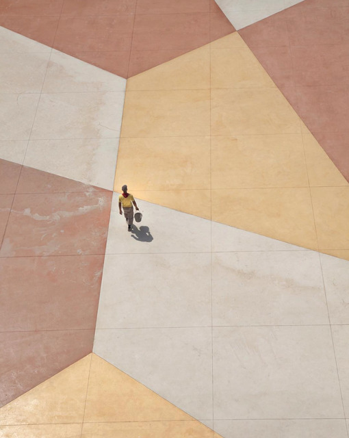 Serge Najjar, ''Walking on a Living Canvas I'', 2015, Photography, Photographic paper mounted on aluminum, Galerie Bessières