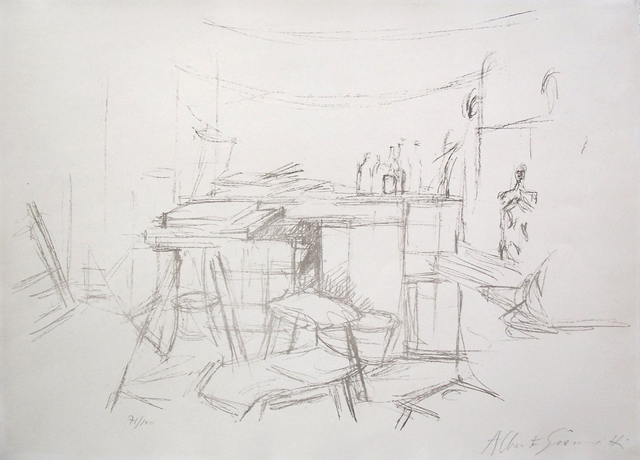 , 'The Studio with Bottles / L'Atelier aux Bouteilles,' 1957, Gilden's Art Gallery