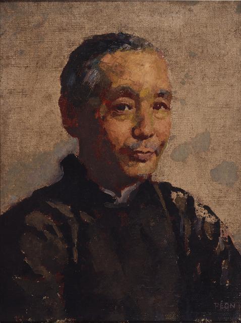 Xu Beihong, 'Portrait of Ren Bonian', 1928, Art Museum of the Chinese University of Hong Kong