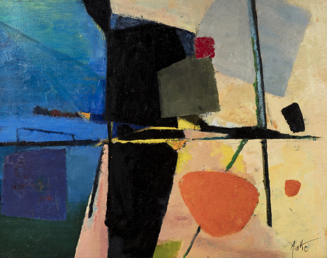 Jean Miotte, 'Untitled', circa 1947-1948, Painting, Oil on canvas, Millon