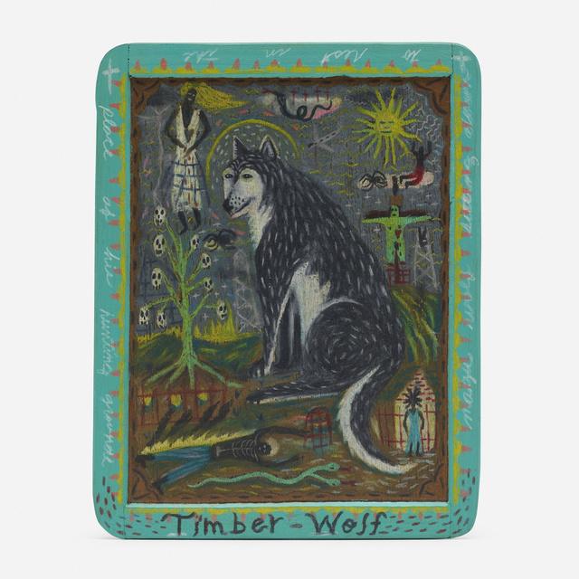 Tony Fitzpatrick, 'Timber Wolf', 1987, Wright
