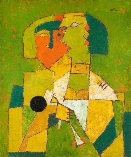 , 'Untitled,' 1955, Guggenheim Museum