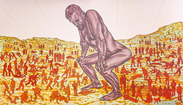 Conrad Botes, 'Origin ', 2011, Painting, Acrylic on canvas, Gallery Fanon