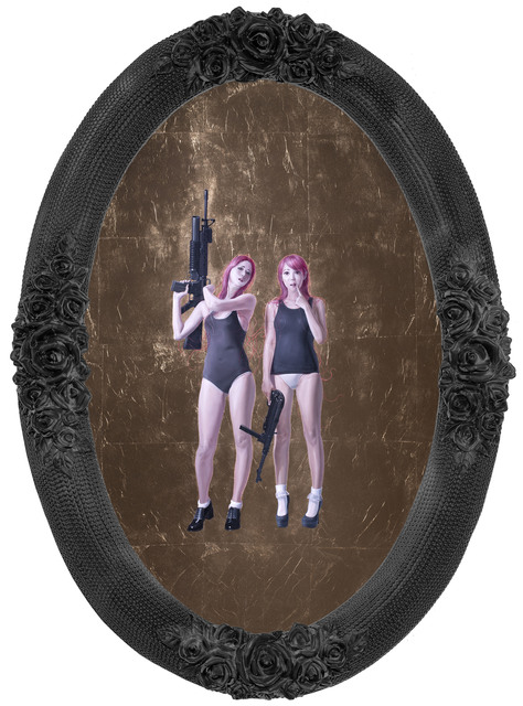 , 'Tender Girl V,' 2014, Jonathan LeVine Projects