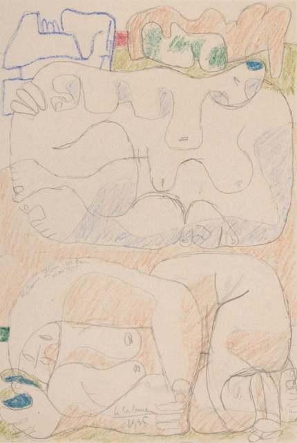 Le Corbusier, 'Femmes Couchées', 1935, Wallector