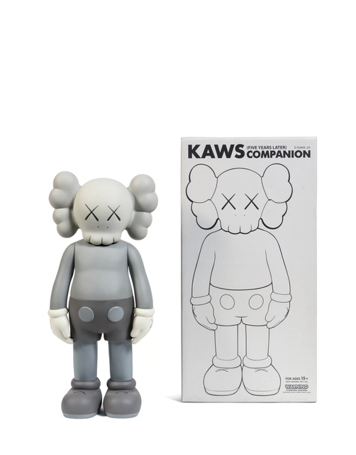 KAWS, 'Five Years Later Companion (Gris)', 2004, Sculpture, Painted cast vinyl, DIGARD AUCTION