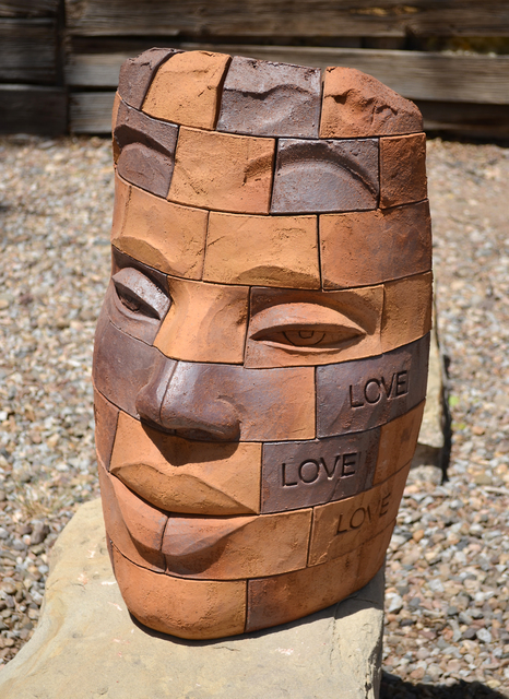 James Tyler, 'Brickface LOVE 3', Nüart Gallery
