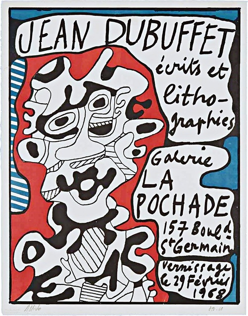 Jean Dubuffet, 'Ecrits et Lithographies (Hand Signed)', 1968, Alpha 137 Gallery