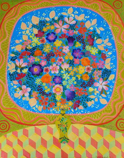 , 'Blossoms,' 2016, Rebecca Hossack Art Gallery