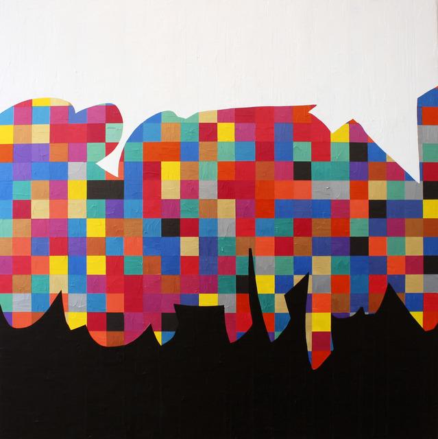 Marc Thalberg, 'proton/elektron', 2019, Art Signé