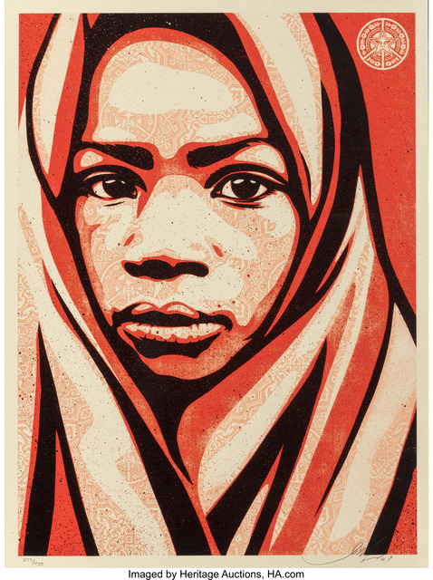Shepard Fairey (OBEY), 'Blanket', 2009, Heritage Auctions