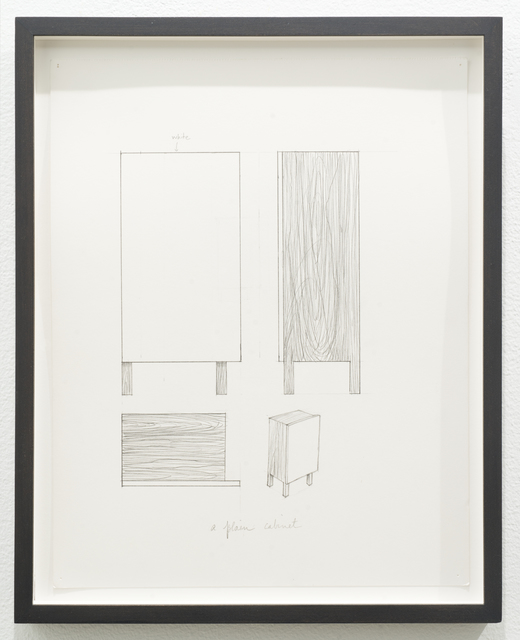 , 'Untitled (a plain cabinet),' 2012, Lora Reynolds Gallery