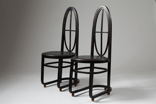 , 'Pair of chairs ,' 1906, Modernity