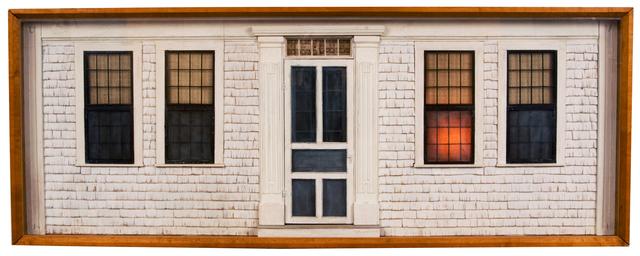 Bruce Monteith, 'Shingled House', Mixed Media, Mixed Media Construction, Clark Gallery