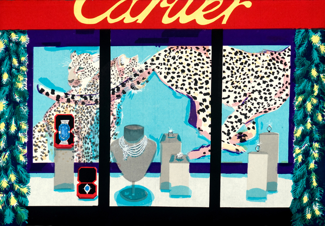 , 'Cartier Christmas Window,' 2014, Cade Tompkins Projects