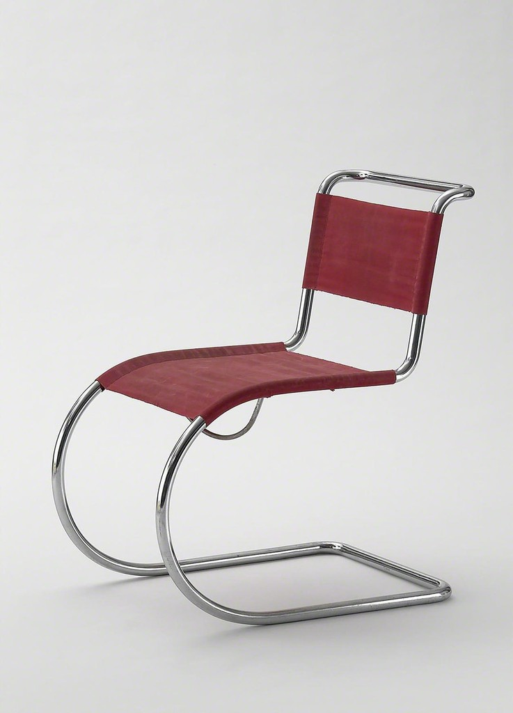 BENTWOOD AND BEYOND: Thonet and Modern Furniture Design Ludwig Mies van der Rohe, Cantilever chair, model MR 533 (MR 10), 1927 (execution: ca. 1935) © MAK/Georg Mayer