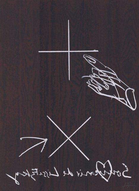 Antoni Tàpies, 'Souvenir de Lissitzky', 1990-2000, ARTEDIO