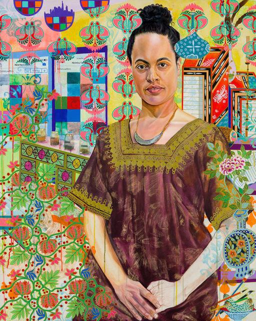Kira Nam Greene, 'Chloe and Tommy', 2018, Lyons Wier Gallery