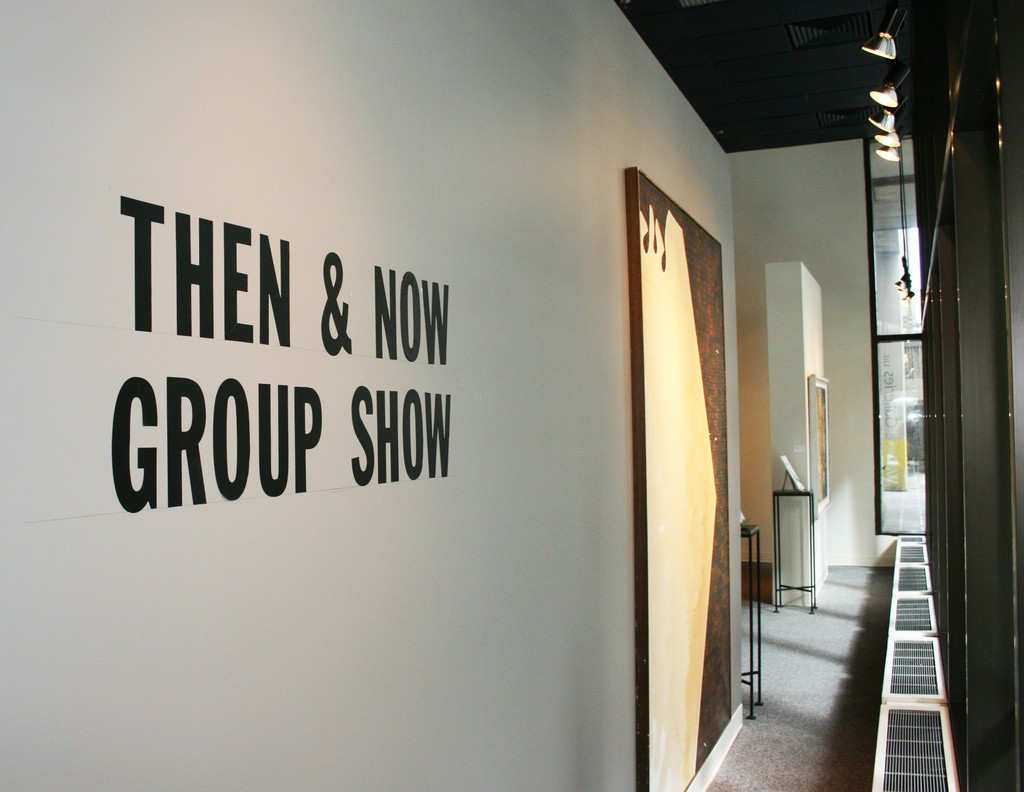Then & Now Group Show 2017. (Artwork in shot by Harold Town)