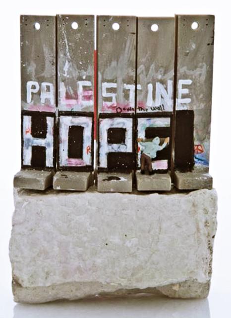 , 'Palestine Hope Wall,' 2017, Alpha 137 Gallery