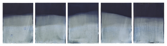 , 'Muybridge Tides #14 (Rapidly Submerged Paper, Lowell Lake, VT, 07.28.17),' 2017, Jackson Fine Art