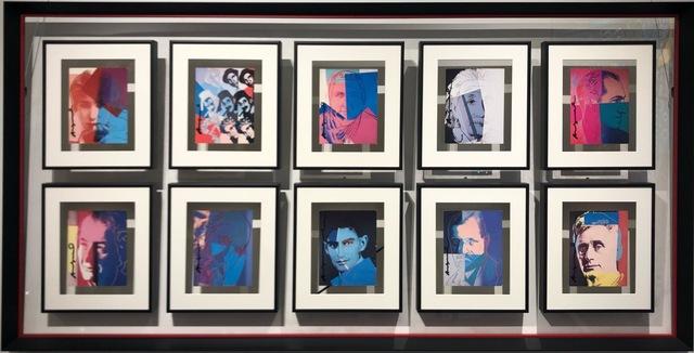 Andy Warhol, 'Ten portraits of Jews', 1980, Gloria Gallery