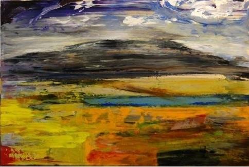, 'Dark Hills,' 2016, Sopa Fine Arts