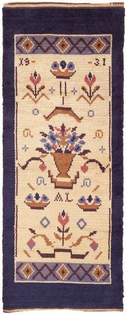 Barbro Sprinchorn, 'Vintage Swedish Rug by Barbro Springchorn', ca. 1950, Nazmiyal Collection