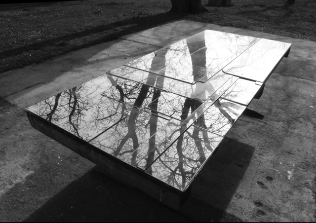 , ''Spiegeltisch' / 'Mirror Table',' 2014, PHOEBUS• Rotterdam