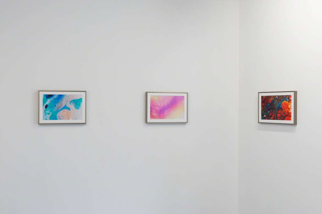 "Fujisaki Ryoichi ""colored oil"" series, 2015, photo: Ken Kato"