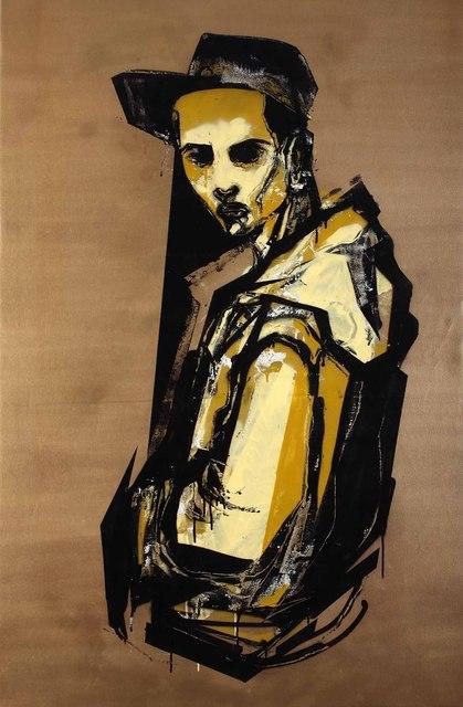 Titi Freak, 'Movimento 1', 2008, Painting, Spray Paint on Canvas, Jonathan LeVine Projects