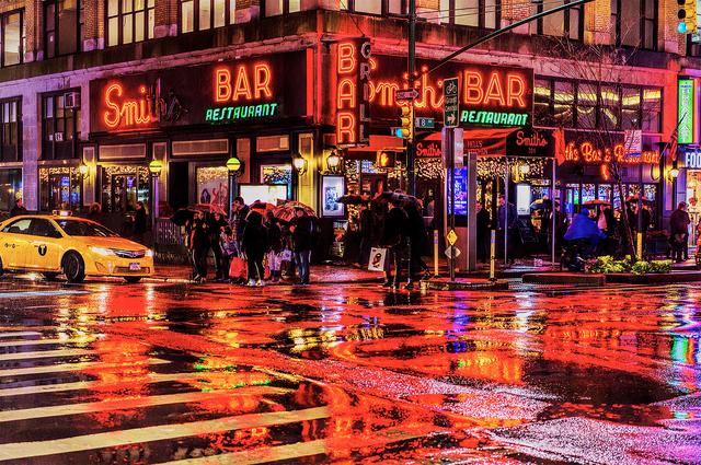 Mitchell Funk, 'New York City Street  Light Refections', 2018, Robert Funk Fine Art