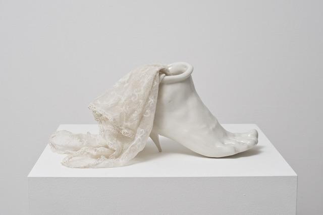 , 'Porcelain Shoe,' 1976, Alison Jacques Gallery