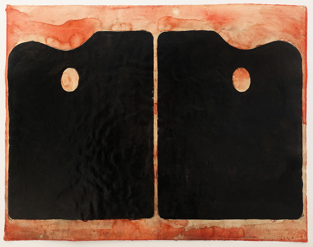 , 'Two Black Palettes,' 1964, Hollis Taggart