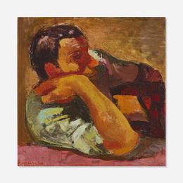 Franco Francese, 'Contadino all' Osteria,' 1957, Wright: Art + Design (February 2017)