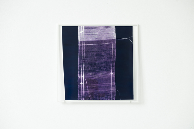, 'While Weaving a Liar's Cloth #21 (contact print),' 2017, Klemm's
