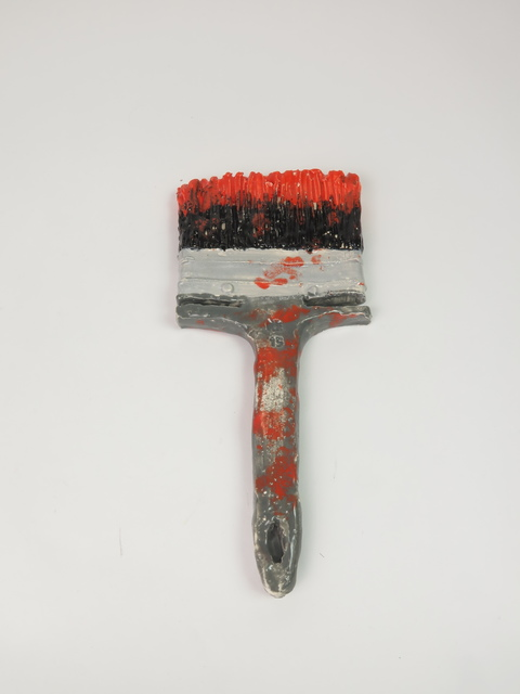 , 'Brush with red paint ,' 2015, V1 Gallery