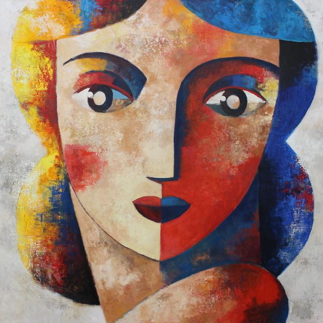 Didier Lourenço, 'Rostro', 2019, Painting, Oil on canvas, Anquins Galeria